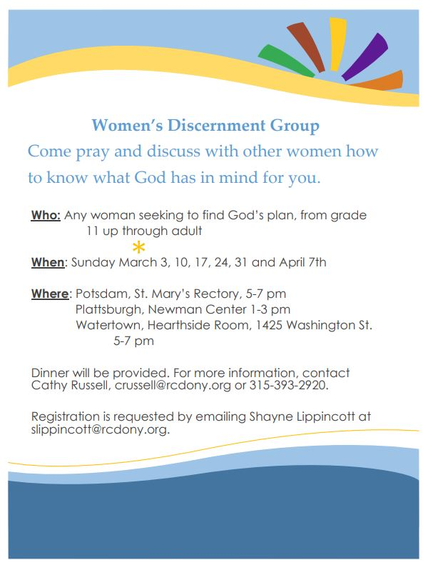 190114 womendiscernment
